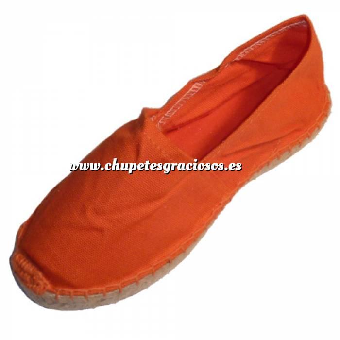 Imagen Naranja CLFR Alpargata Clásica Niño Forrada e Hilo al Tono Naranja Talla 34