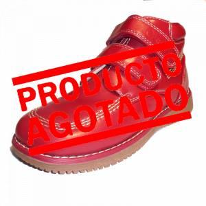 Rojo - BTIN Botín niño en piel Rojo Talla 35