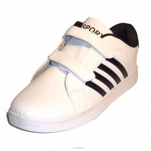 blanco-negro - ZAPD Zapatilla deporte niño  blanco-negro Talla 37