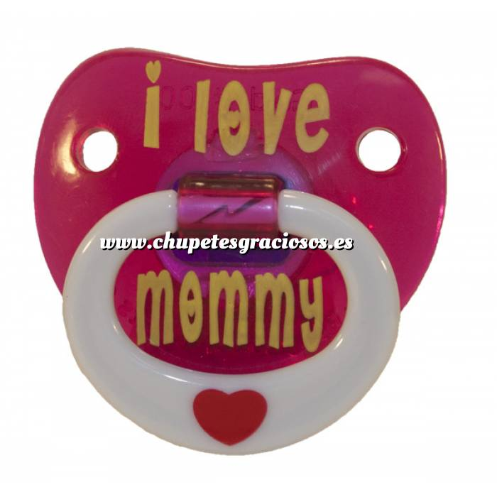 Imagen Chupetes Dientes Chupete I Love Mommy - I Love Mommy Pacifier Billy Bob